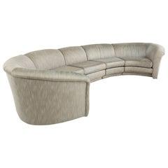 Thayer Coggin Midcentury Circular Sectional Sofa