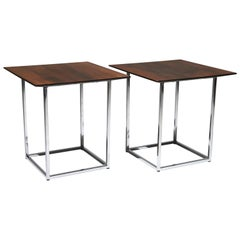 Thayer Coggin Rosewood Side Tables