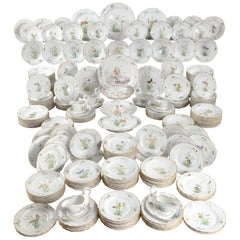 "The 248 Piece Royal Danish Porcelain ""Butterfly Service"""