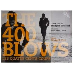 """""""The 400 Blows"""" R2009 British Quad Film Poster"""