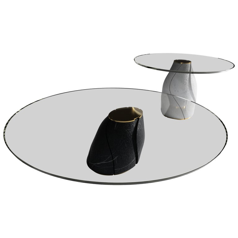 """""""The Addiction"""", One of a Kind Coffee Table Set by Grzegorz Majka For Sale"""