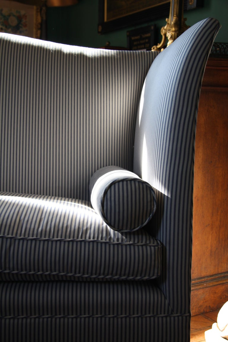 Admiral Wingback Sofa by Noble and Thane In New Condition For Sale In Tetbury, GB