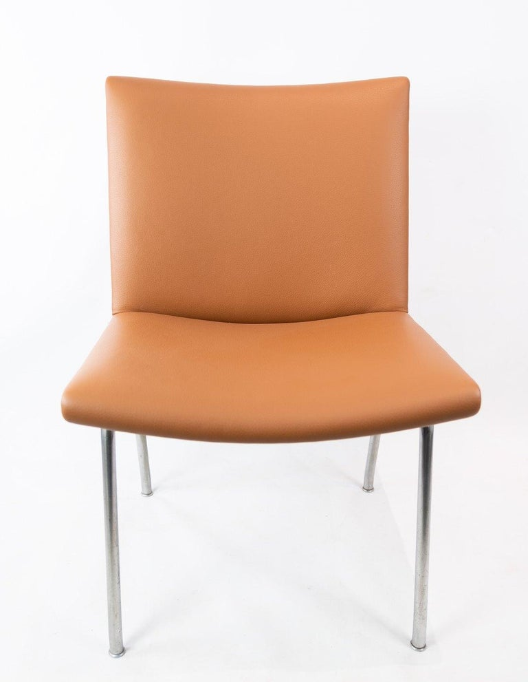 Mid-20th Century The Airport-Chair, Model AP37, Designed by Hans J. Wegner in the 1950s For Sale