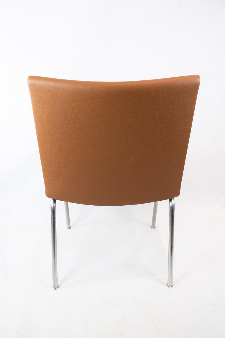 The Airport-Chair, Model AP37, Designed by Hans J. Wegner in the 1950s For Sale 1