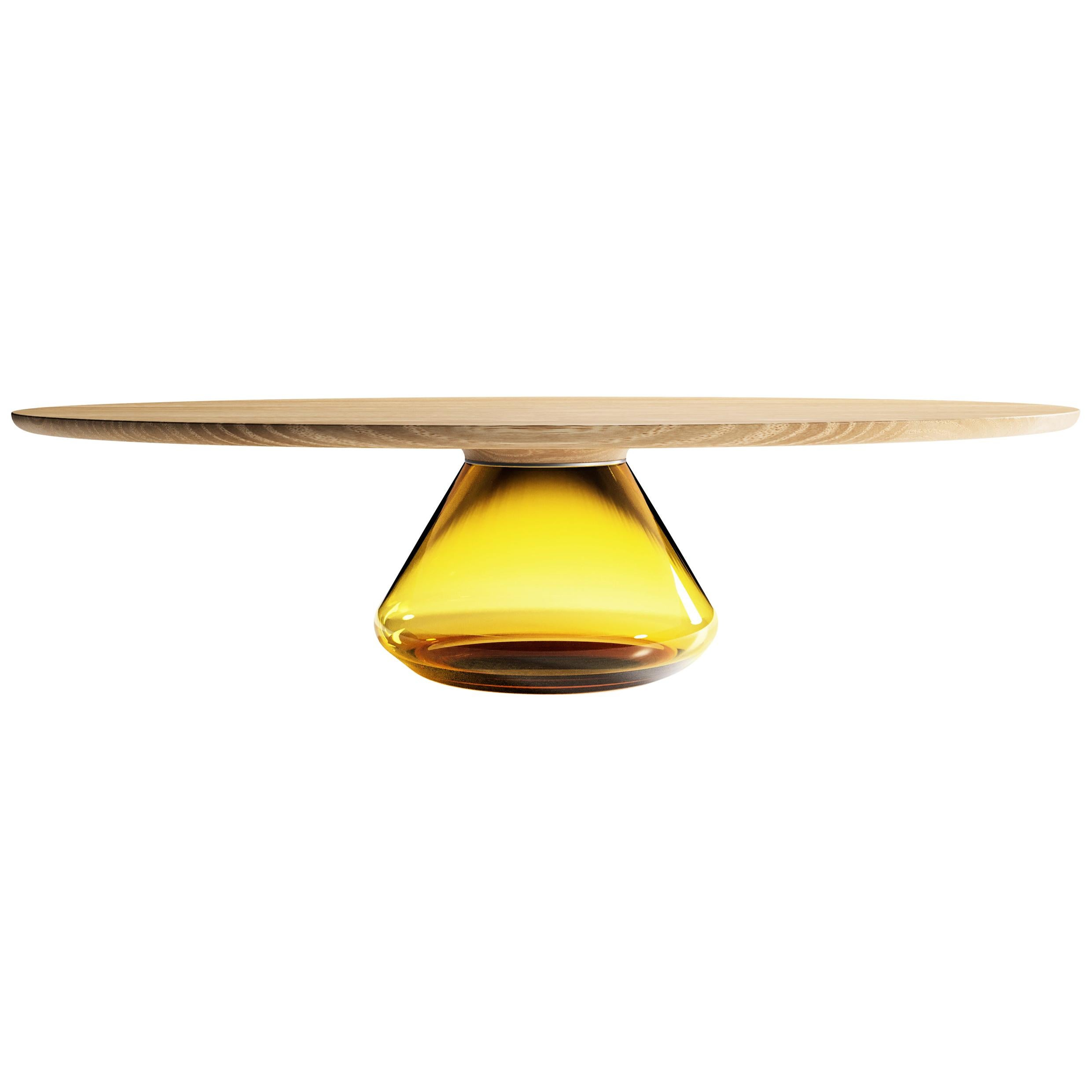 The Amber Eclispse I, Limited Edition Coffee Table by Grzegorz Majka