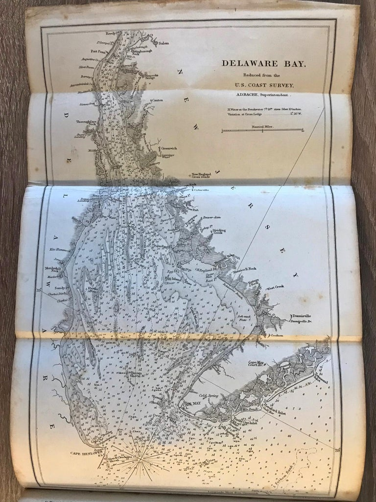 The American Coast Pilot by Edmund Blunt, 1847, Rare For Sale 5