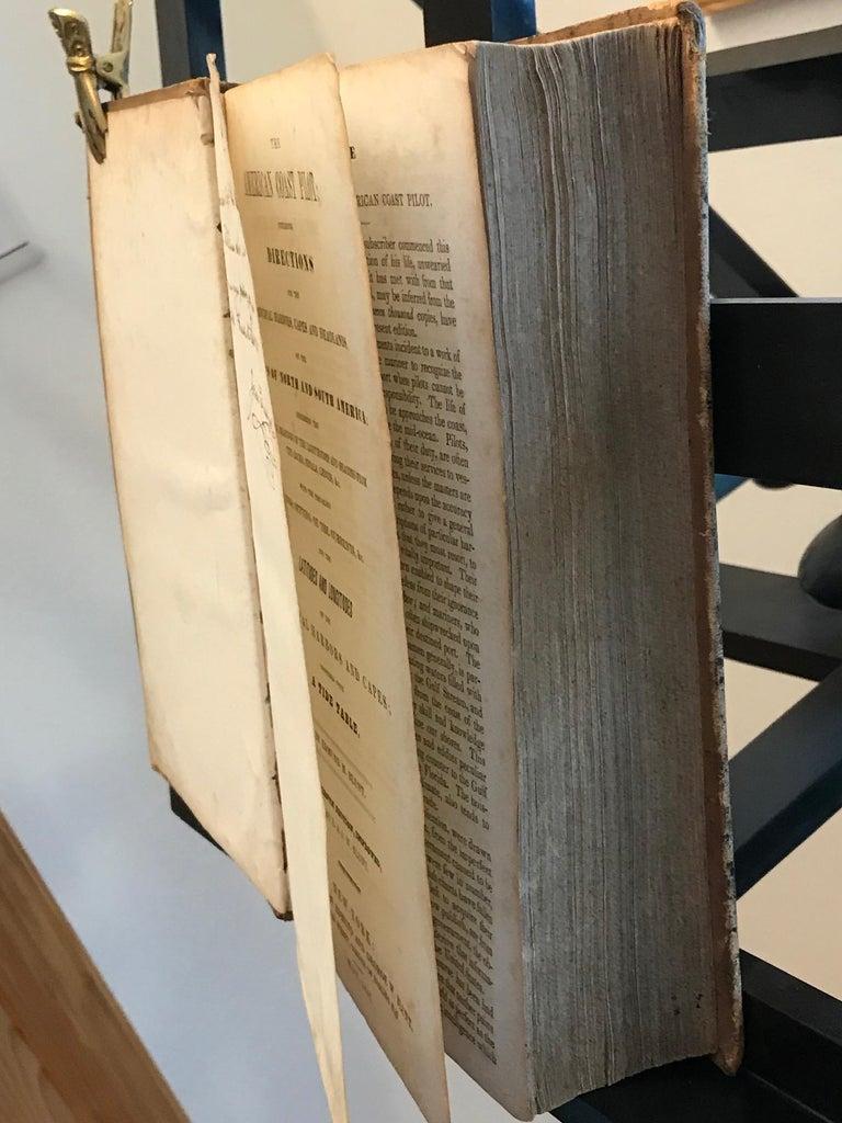 The American Coast Pilot by Edmund Blunt, 1847, Rare In Good Condition For Sale In Unteriberg, Schwyz