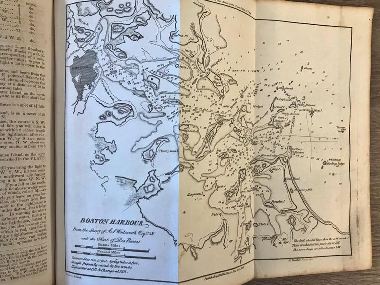 The American Coast Pilot by Edmund Blunt, 1847, Rare For Sale 3