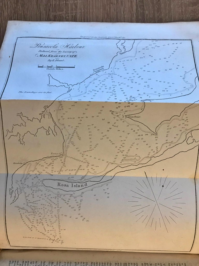 The American Coast Pilot by Edmund Blunt, 1847, Rare For Sale 4