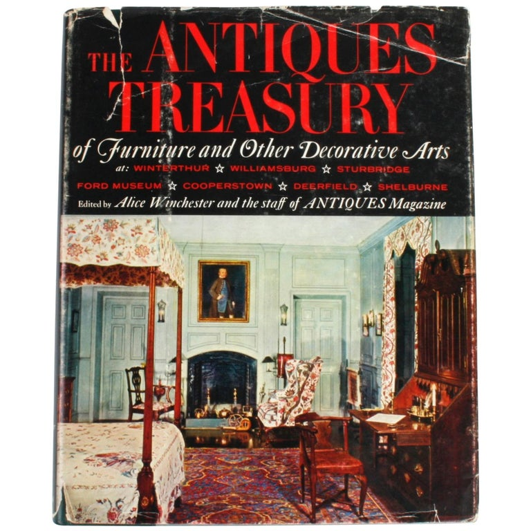 """""""The Antiques Treasury of Furniture and Other Decorative Arts"""" Book"""