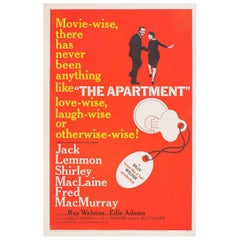 """The Apartment"" 1960 U.S. One Sheet Film Poster"