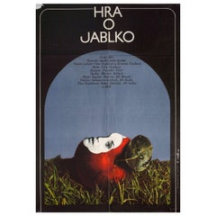 """""""The Apple Game"""" 1977 Czech A1 Film Poster"""