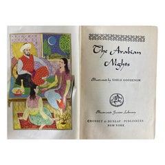 The Arabian Nights Grosset & Dunlap Illustrated Junior Library, 1946 1st Ed.