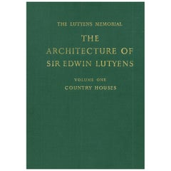 """The Architecture of Sir Edwin Lutyens"" Books, The Lutyens Memorial Volumes"