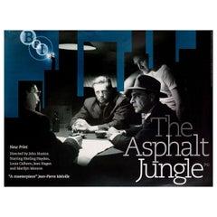 """""""The Asphalt Jungle"""" R2006 British Quad Film Poster"""