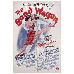 The Band Wagon R1963 U.S. One Sheet Film Poster