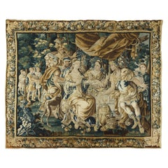 The Banquet of Cleopatra by Aubusson Manufacture