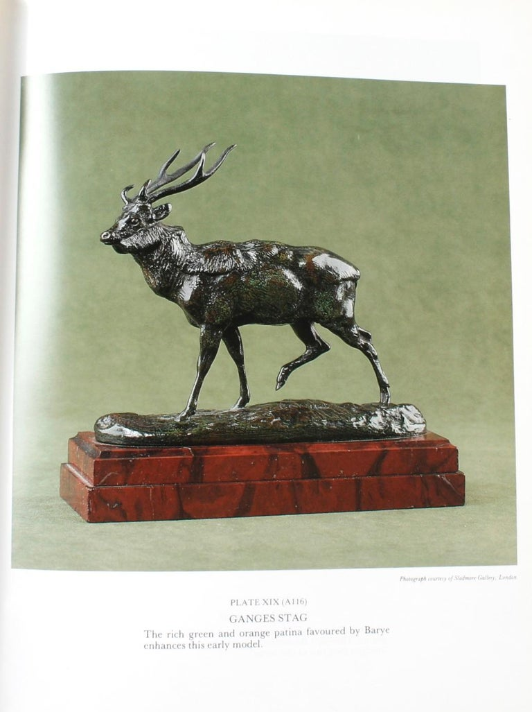Barye Bronzes, a Catalogue Raisonne by Stuart Pivar In Good Condition For Sale In valatie, NY