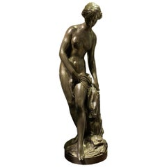 """The Bather"" Bronze Sculpture after Etienne Falconnet"
