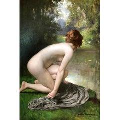 """""""The Bather"""" by Allan Douglas Davidson"""