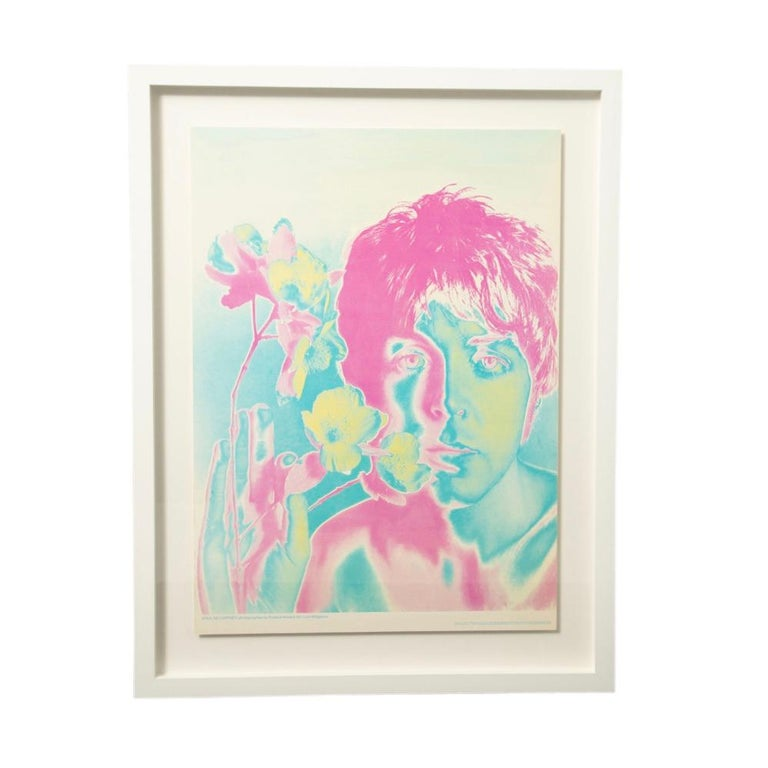 The Beatles by Richard Avedon, Look Magazine, Offset Lithographs For Sale 4