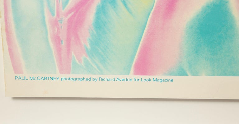 The Beatles by Richard Avedon, Look Magazine, Offset Lithographs For Sale 6