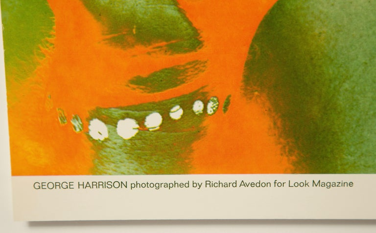 The Beatles by Richard Avedon, Look Magazine, Offset Lithographs In Good Condition For Sale In New York, NY
