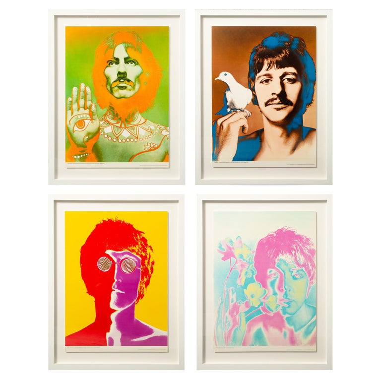 The Beatles by Richard Avedon, Look Magazine, Offset Lithographs For Sale