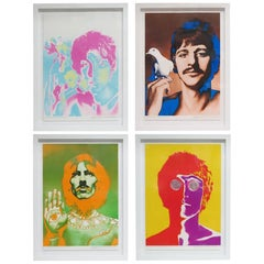 Beatles by Richard Avedon, Offset Lithographs, for Stern Magazine