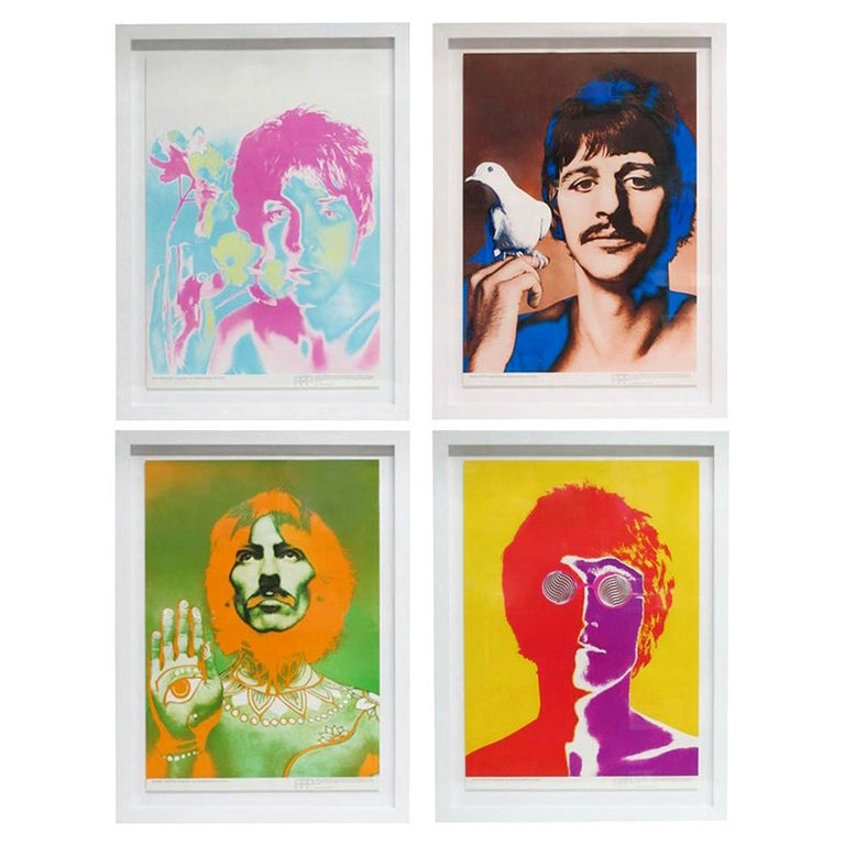 The Beatles by Richard Avedon, Offset Lithographs, for Stern Magazine For Sale