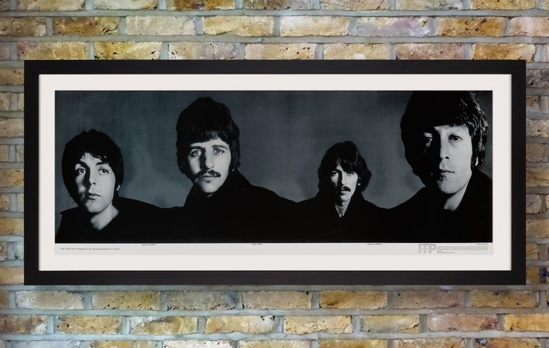 'The Beatles' Complete Set of Five Promotional Posters by Richard Avedon, 1967 For Sale 4