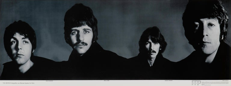 Mid-20th Century 'The Beatles' Complete Set of Five Promotional Posters by Richard Avedon, 1967 For Sale