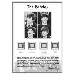 The Beatles Genuine 1964 Slept-in Bed Linen