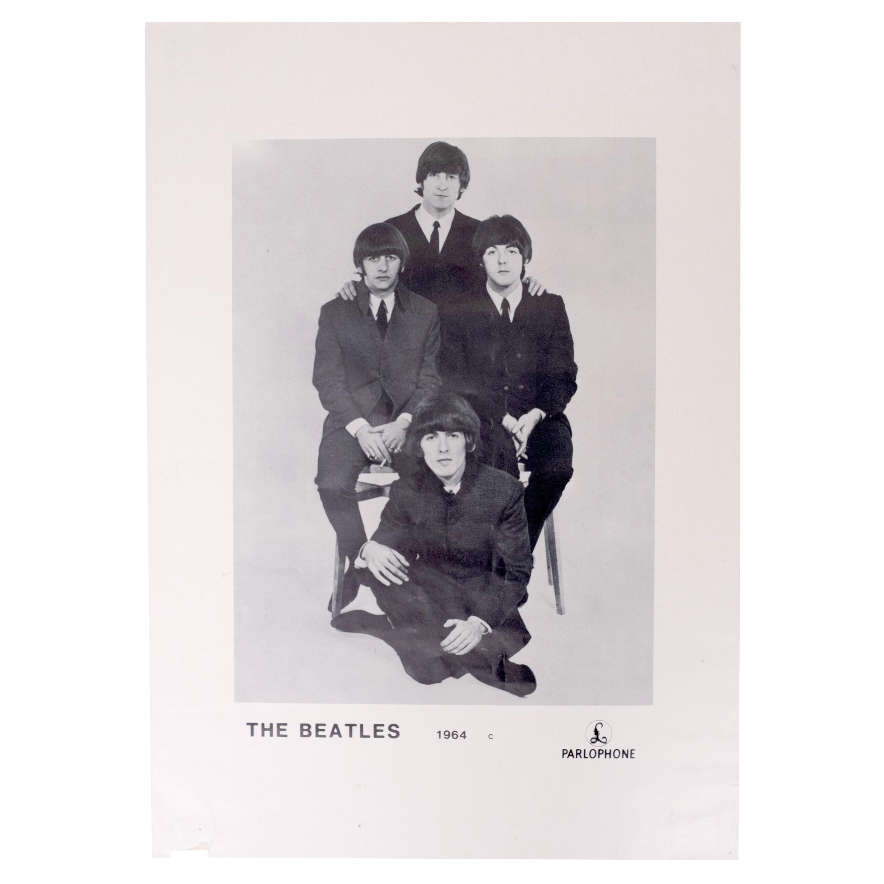 The Beatles Promotional Poster 1964