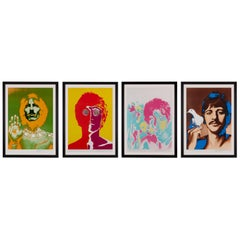 'The Beatles' Set of Four Original Posters by Richard Avedon, 1967