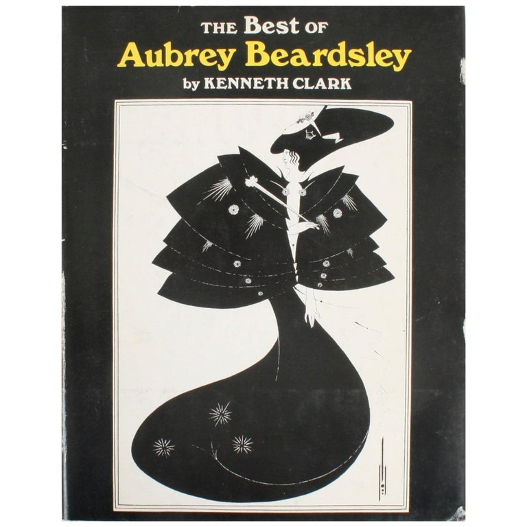 The Best of Aubrey Beardsley by Kenneth Clark, First Edition For Sale