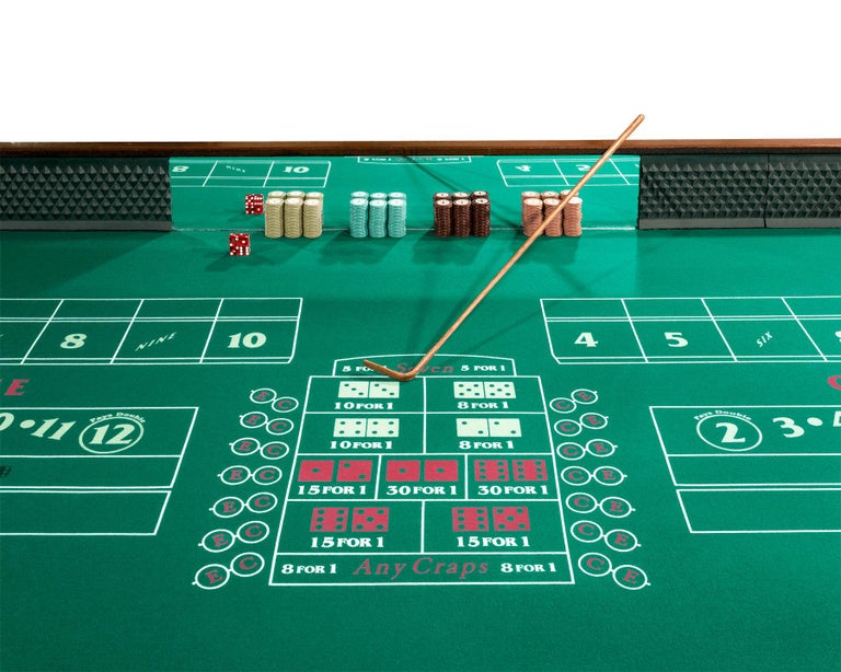 Other The Beverly Club Craps Table