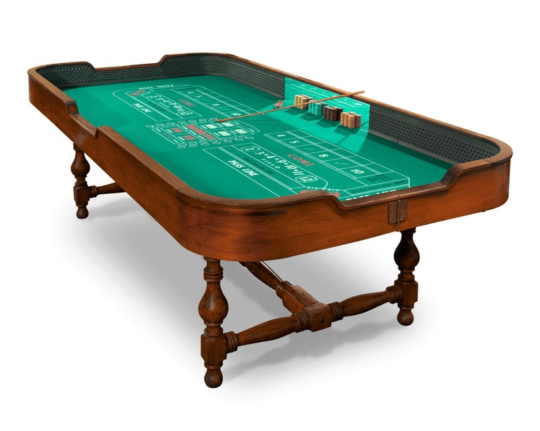 American The Beverly Club Craps Table