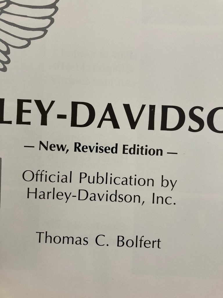 The Big Book Of Harley-Davidson Hardcover Book For Sale 3