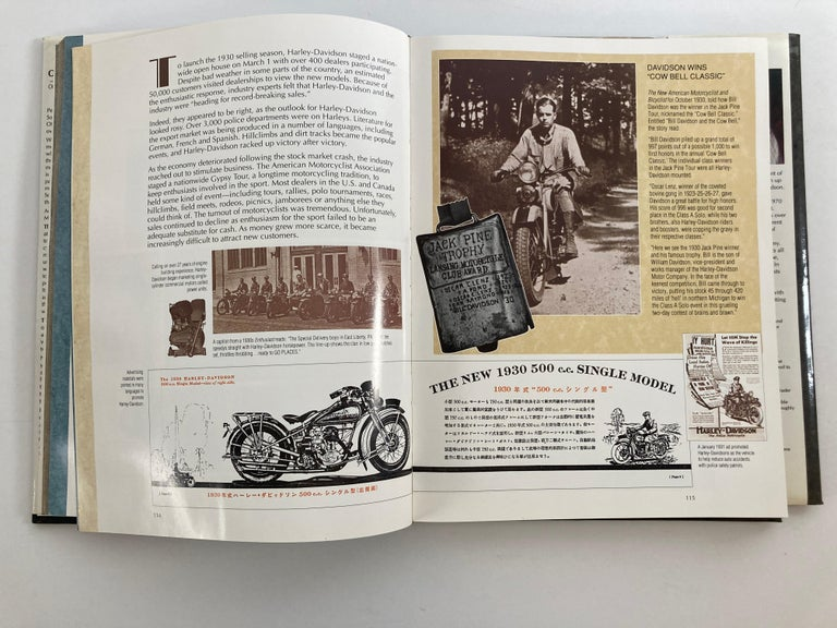 The Big Book Of Harley-Davidson Hardcover Book For Sale 6