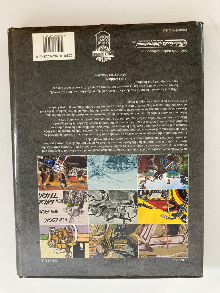 Modern The Big Book Of Harley-Davidson Hardcover Book For Sale