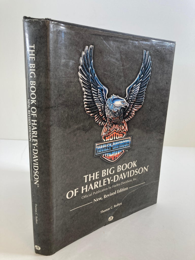 American The Big Book Of Harley-Davidson Hardcover Book For Sale