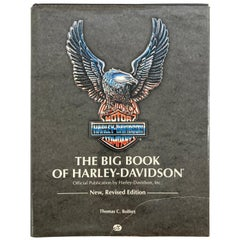The Big Book Of Harley-Davidson Hardcover Book