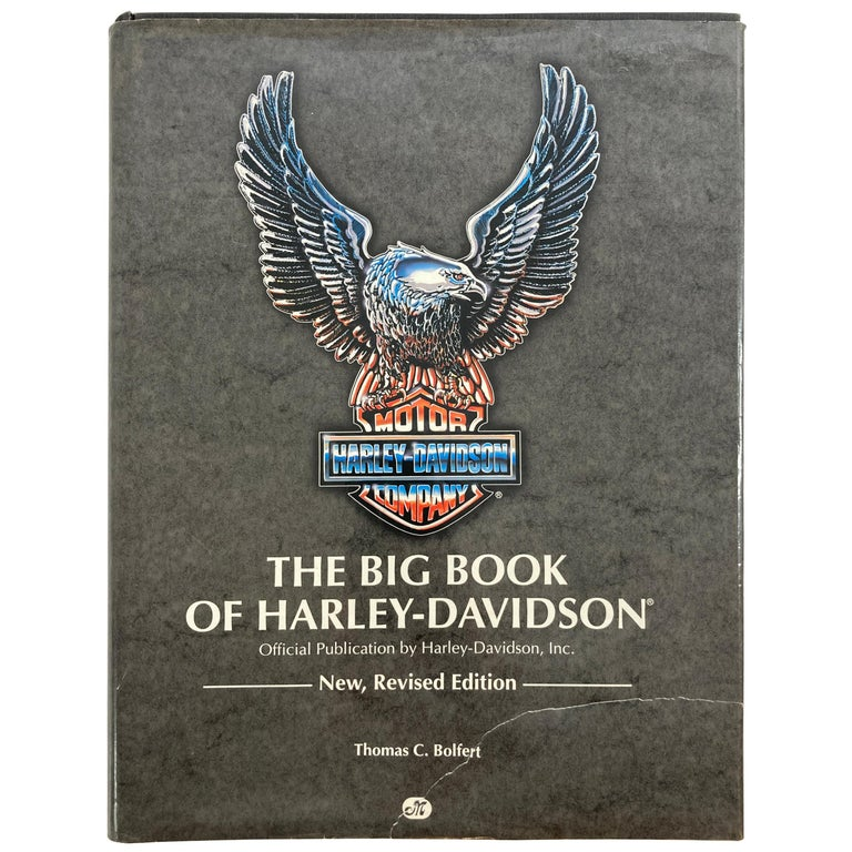 The Big Book Of Harley-Davidson Hardcover Book For Sale