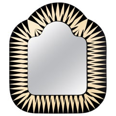 The Big Parade Console Wall Mirror by Matteo Cibic