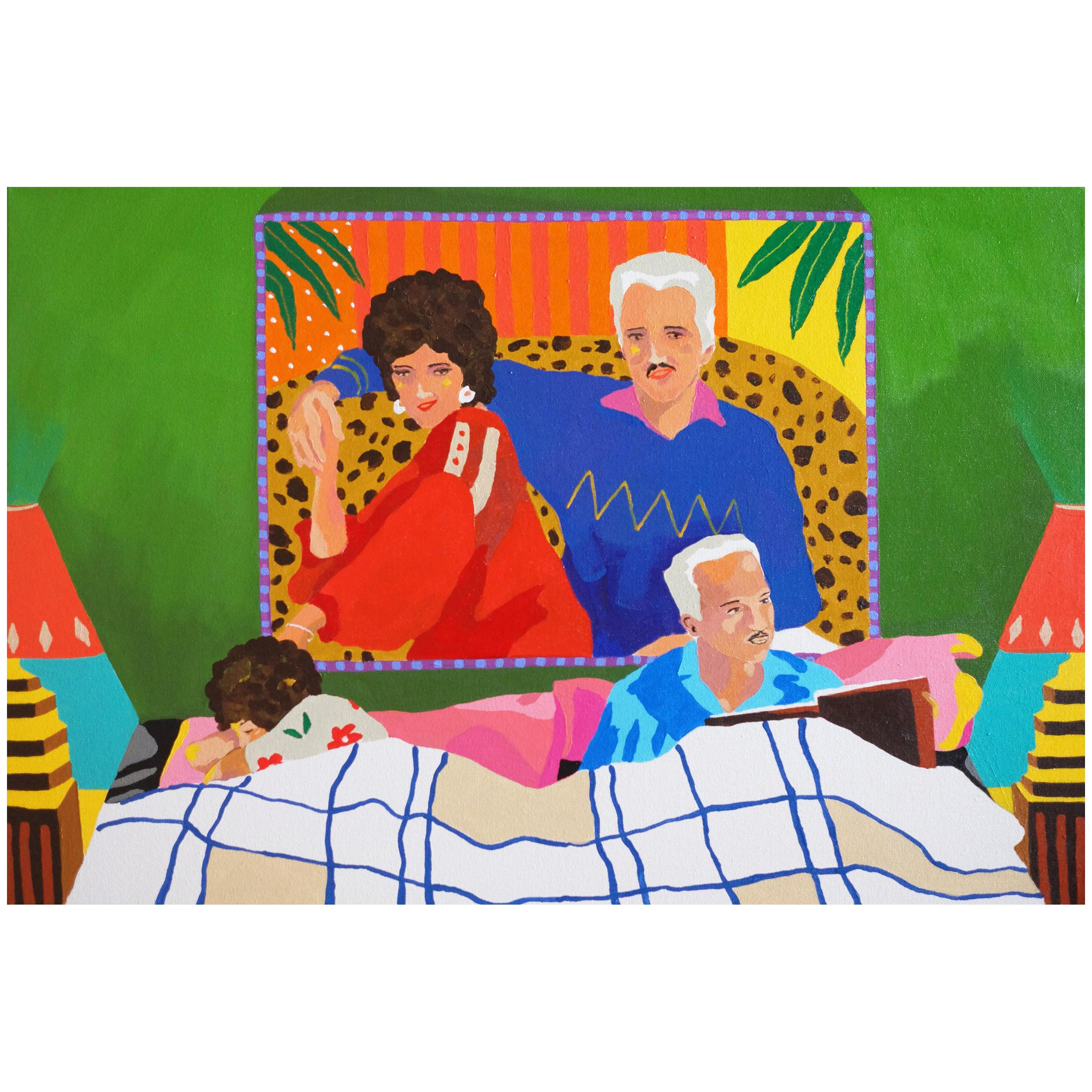 'The Big Picture' Portrait Painting by Alan Fears Pop Art