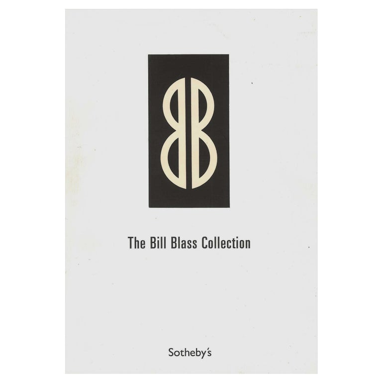 The Bill Blass Collection, 2003 Sotheby's Sale Catalogue For Sale