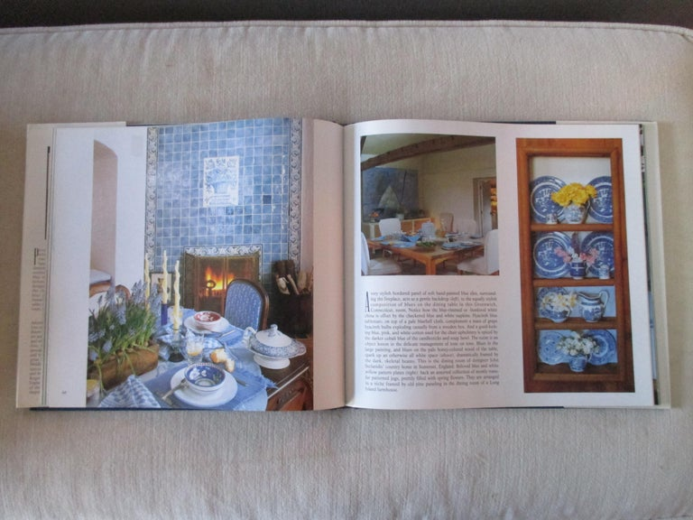 The Blue and White Room hardcover book by Mary Gilliat Illustrated throughout with more than 125 full-color photographs, here is the ultimate decorating book on the exquisite color combination that has dominated history in art and