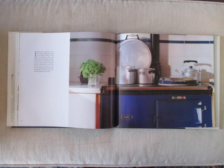 Mid-Century Modern The Blue and White Room Hardcover Book For Sale