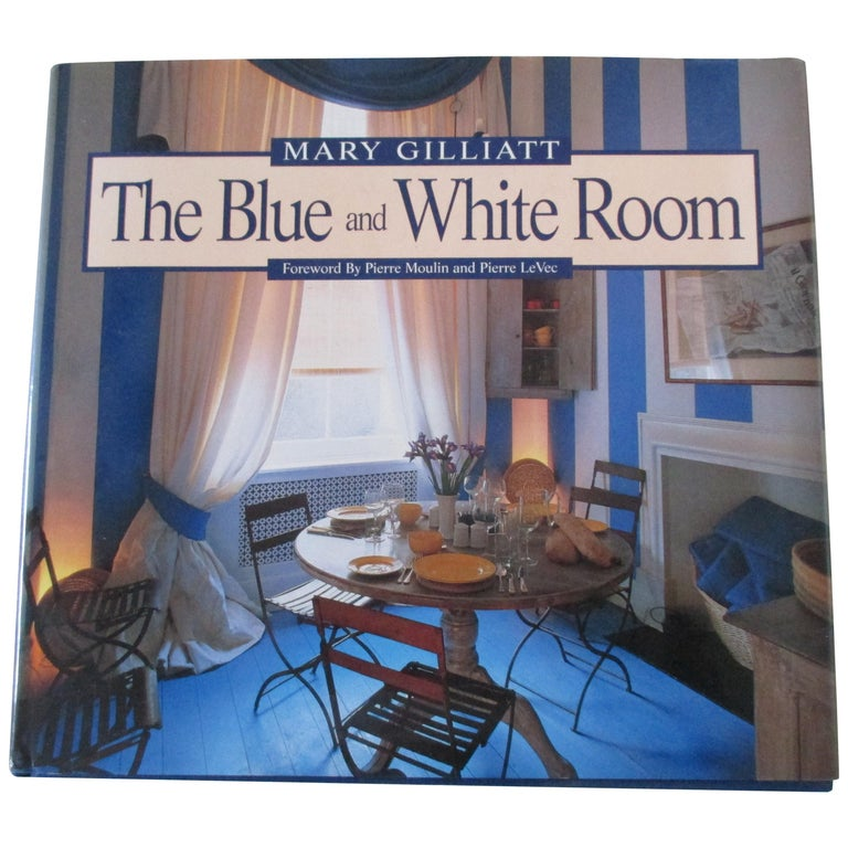 The Blue and White Room Hardcover Book For Sale